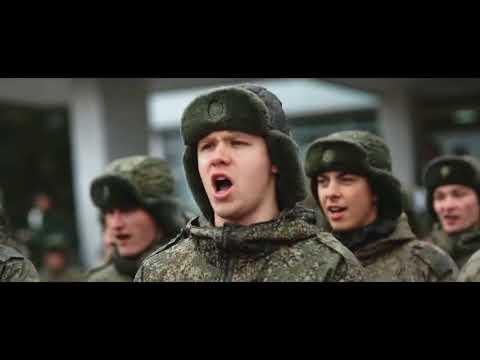 Флешмоб. В армии. Строевая песня.