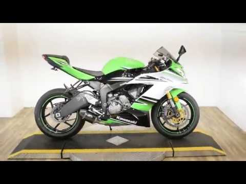 2015 Kawasaki Ninja® ZX™-6R ABS 30th Anniversary in Wauconda, Illinois - Video 1
