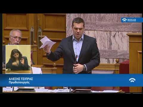 Α.Τσίπρας (Πρωθυπουργός)(Τριτολογία)(Κατάργηση των διατάξεων περί μείωσης των συντάξεων)(11/12/2018)