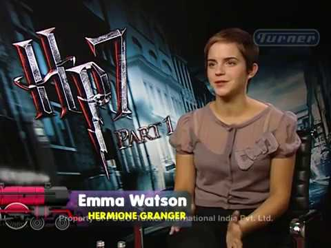 Interview with Ms. Emma Watson, actor Harry Potter film series