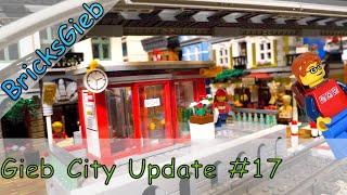 GiebCity Update 17 - Der kleine City Bahnhof / The small city train station