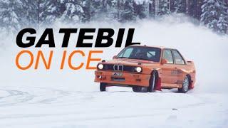 GATEBIL ON ICE - Drifting, Sigdal 2015! w/Fredric Aasbø & Kenneth Alm