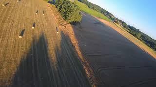 Drone FPV rencontre un DJI phantom et crash