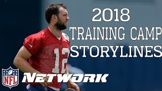 What is the Most Compelling Storyline Entering 2018 Training Camp? | NFL Network