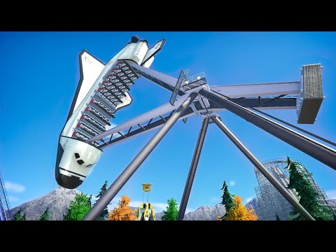 I'm almost ready for Launch! (Planet Coaster Realistic Series)