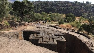 preview picture of video 'Lalibela Kirche Heiligen Georg'