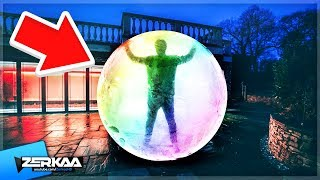 GIANT ZORB BALL IN THE SIDEMEN HOUSE!