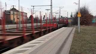 preview picture of video 'DB 140 681-8 at Lehrte Bahnhof 16 March 2013'