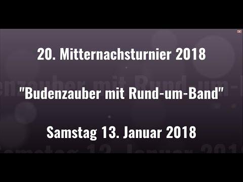 """20. Wemdinger Mitternachtsturnier """"Budenzauber mit Rund-um-Bande"""" (1. Spiel)"""
