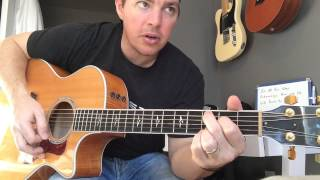 Gone Country - Alan Jackson (Beginner Guitar Lesson)