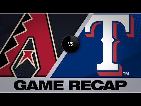 Escobar's 2 HRs, 7-run 1st leads D-backs | D-backs-Rangers Game Highlights 7/17/19