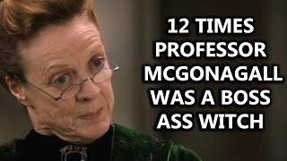 12 Times Professor McGonagall Was a Boss Ass Witch