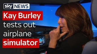 Kay Burley interviews Captain 'Sully' and tests out airplane simulator