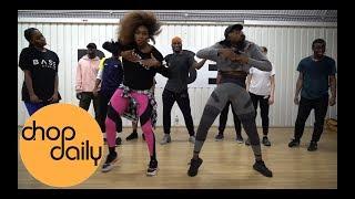 ZieZie   Sensei (Dance Class Video) | Fumy Opeyemi Choreography | Chop Daily