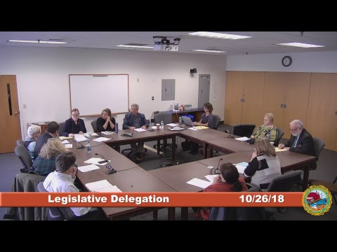 Legislative Delegation 10.26.2018
