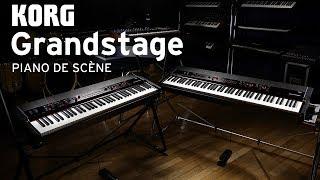 KORG Grandstage 73 - Stock B - Video