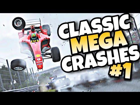 F1 2019 CLASSIC MEGA CRASHES