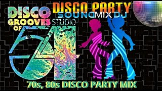 70s & 80s DISCO PARTY MIX || DISCOTECA STUDIO 54 || 70s & 80s DISCO GREATEST HITS || HIGH ENERGY MIX