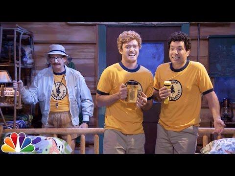 Jimmy a Justin Timberlake na dětském táboře