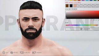 WWE 2K19 - Customize | Create Character (PC HD) [1080p60FPS]