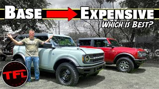What Is The BEST 2021 Ford Bronco? I Compare The Trims To Find Out!   Bronco Week Ep.2