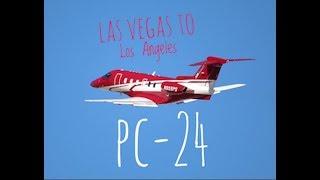 Pilatus PC-24 Flight to KHHR (ATC Audio)