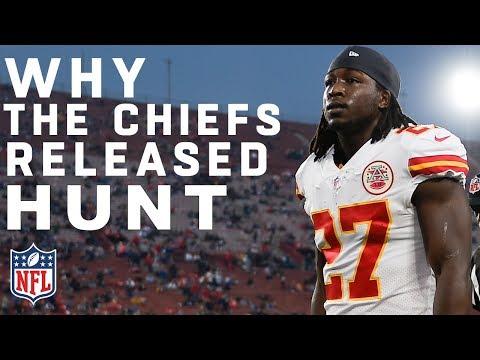 Chiefs Release Kareem Hunt | NFL Breaking News