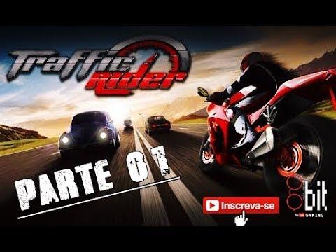 Traffic Rider - AppGame - Parte01 - Missões 1 á 5