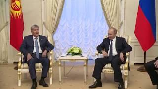 Срочно!!! Путин поддержал Атамбаева!