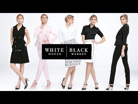 White House Black Market Ad Pop Culture References 2012