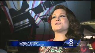 York County's DaNica Shirey awaits results after performance on NBC's 'The Voice'
