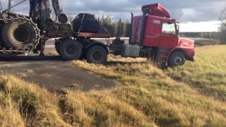 Scania 142h trailerdragare offroad