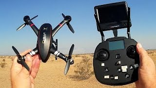 Cheerson CX-23 Drone Long Distance Desert Flight Test Review