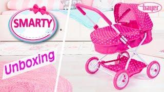 "Коляска для кукол Bayer Design 12212AA Smarty Doll Pram, розовая от компании Интернет-магазин ""Timatoma"" - видео"