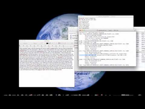 How to make a Minecraft 1 3 2 Craftbukkit server No Hamachi [Port