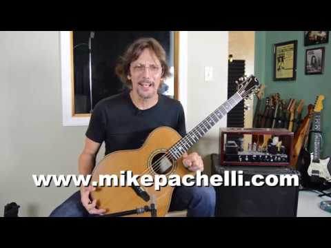 The Beatles - Here Comes The Sun Lesson - SANS Capo by Mike Pachelli