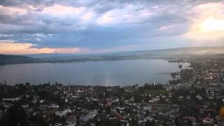 FPV RC Quadcopter Flight Switzerland Zug