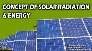 4- Solar Radiation  | Basics of Solar Energy