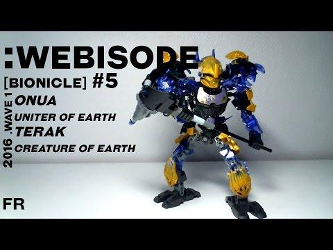 Vidéo LEGO Bionicle 71304 : Terak - Créature de la Terre