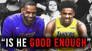 The TRUTH About Bronny James and his NBA Future...