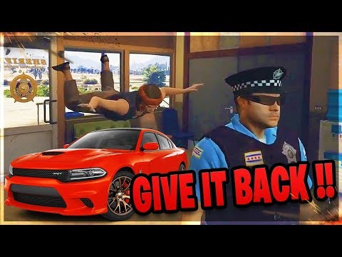 LOL Angry Kid Calls ADMIN When I Magically Steal His Car (GTA RP)