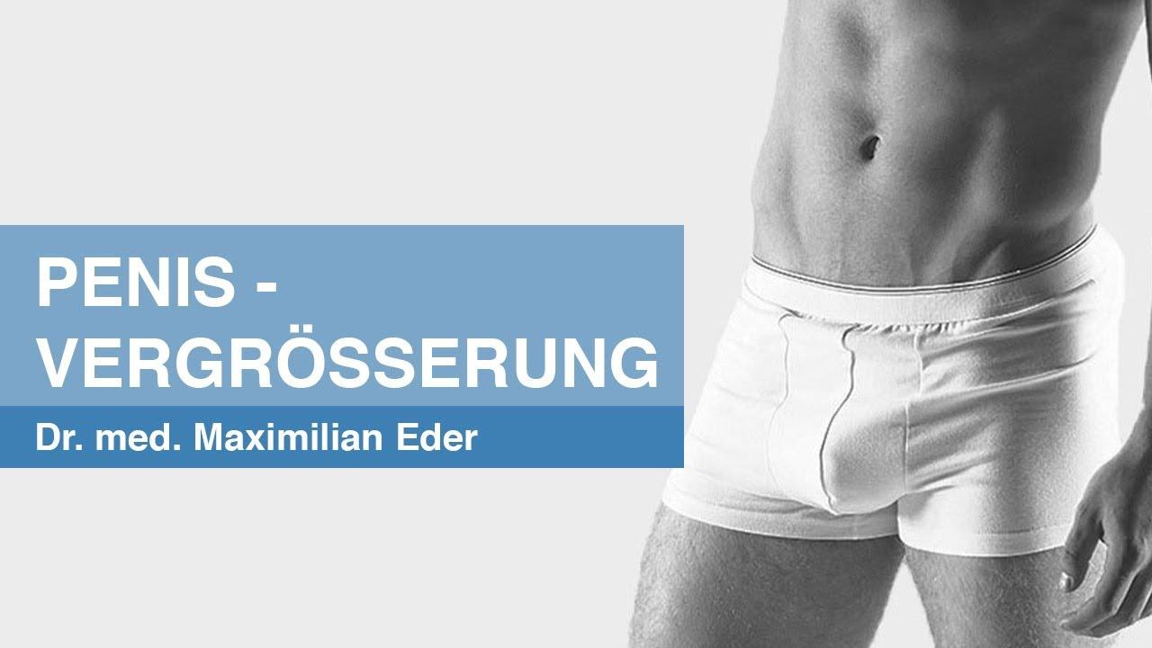 Penisvergrößerung München - PD Dr. med. Maximilian Eder gibt einen Überblick.