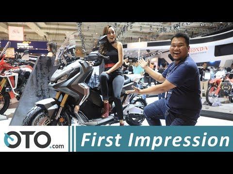 Honda X-ADV, Skutik Adventure 750 cc I First Impression | IIMS 2018 I OTO.com