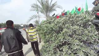 preview picture of video 'najaf to karbala walk'