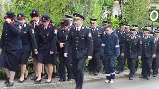 Prihod gasilcev na Florjanovo mašo pri Mali Nedelji
