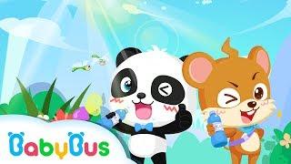 おみずをのもう アニメ  水は体にいい   良い生活習慣   赤ちゃんが喜ぶアニメ   動画   BabyBus