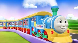 Mickey Mouse Disney Town  - Cartoon Cartoon - Train Cartoon For Kids - Toy Factory - поезд
