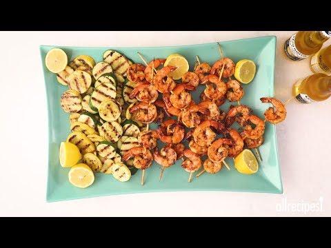 How to Make Grilled Garlic and Herb Shrimp | Weeknight Dinner Recipes | Allrecipes.com