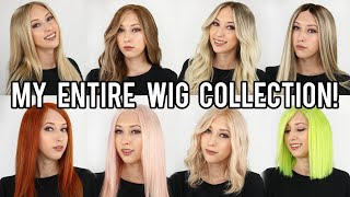 My Human Hair Wig Collection!
