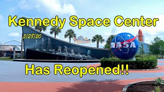 Kennedy Space Center Re-Opening Day!!!